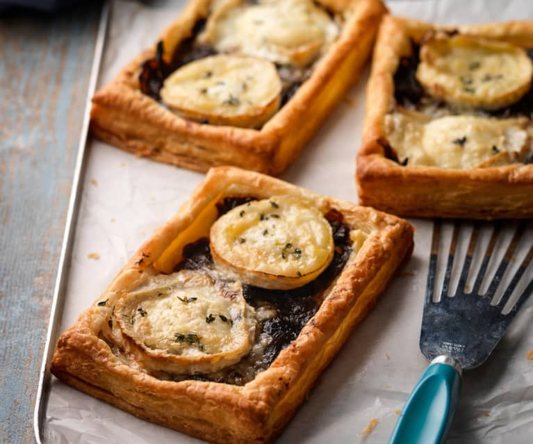 Caramelised Onion and Goat's Cheese Tarts