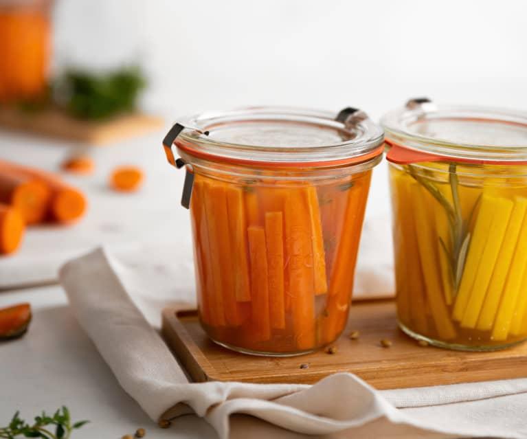 Zanahorias fermentadas