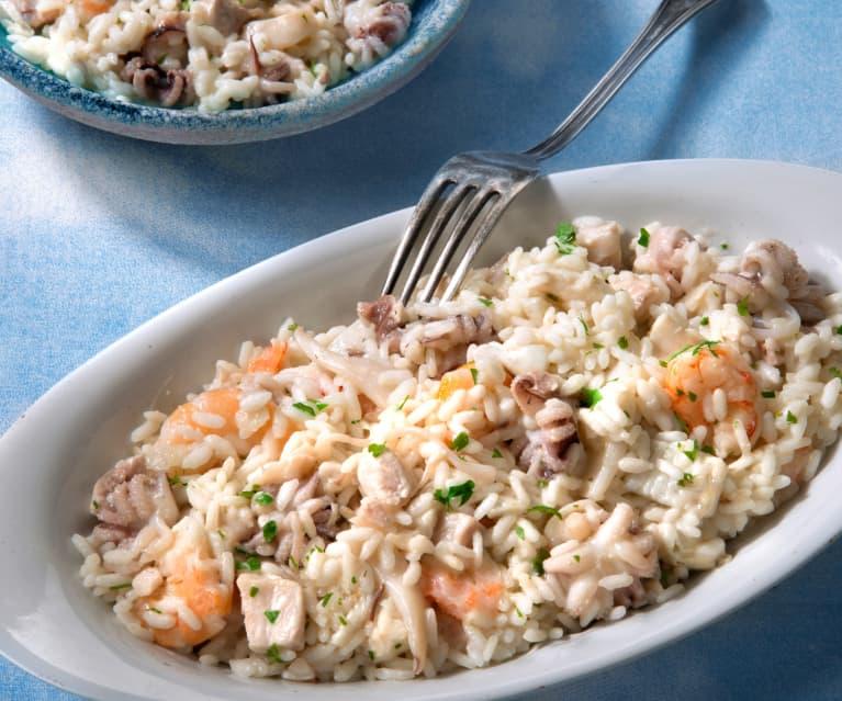 Ricetta Risotto In Bianco.Risotto Al Ragu Bianco Di Mare Cookidoo La Nostra Piattaforma Ufficiale Di Ricette Per Bimby