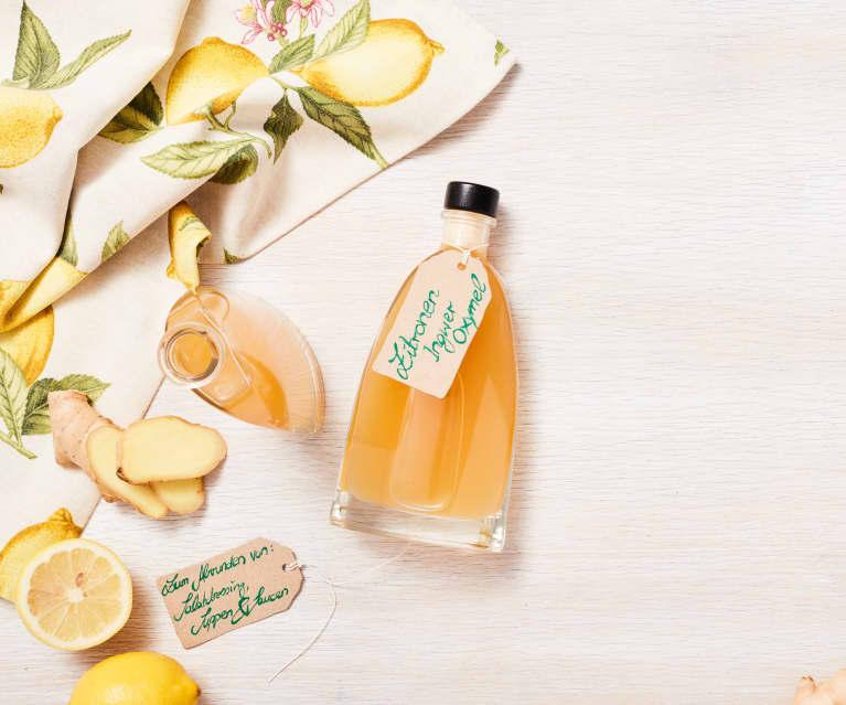 Zitronen-Ingwer-Oxymel