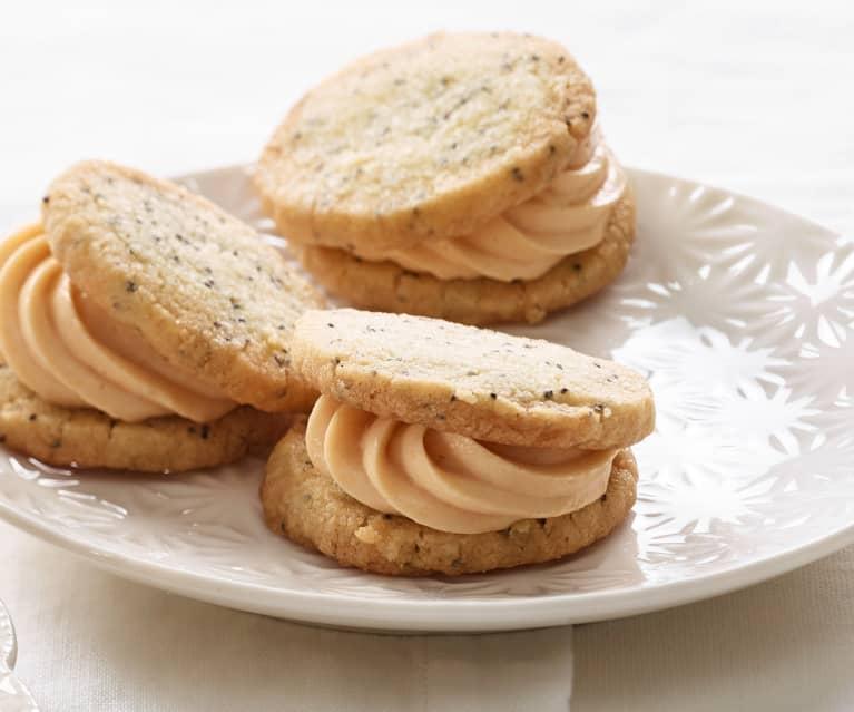 Cookies met maanzaad en rozenbottel