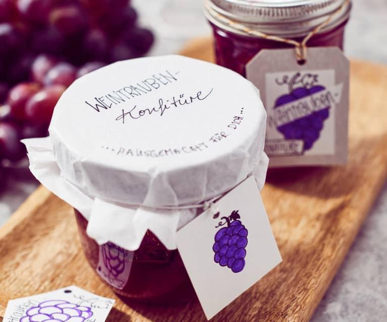 Weintrauben-Konfitüre