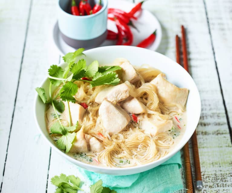 Asia-Hühnersuppe