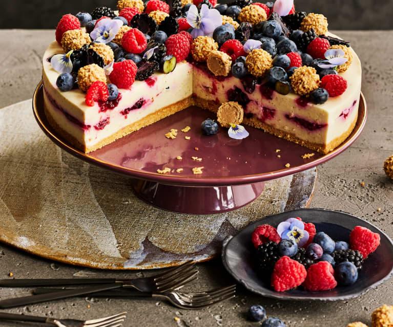 Frischkäse-Haselnuss-Torte