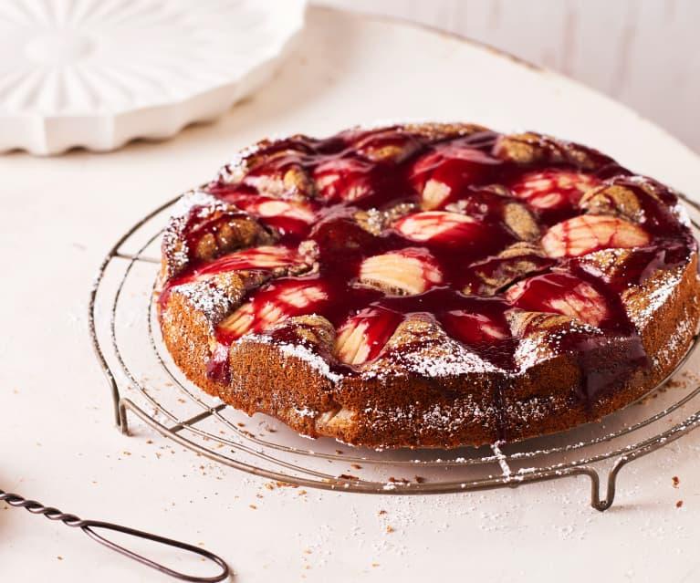 Mohn-Birnen-Kuchen