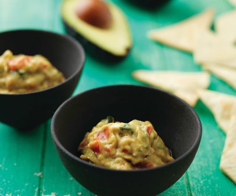 Pão de alho com guacamole