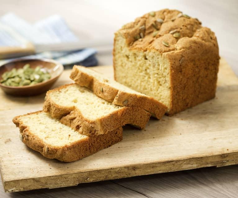 Chia and pepita gluten free loaf
