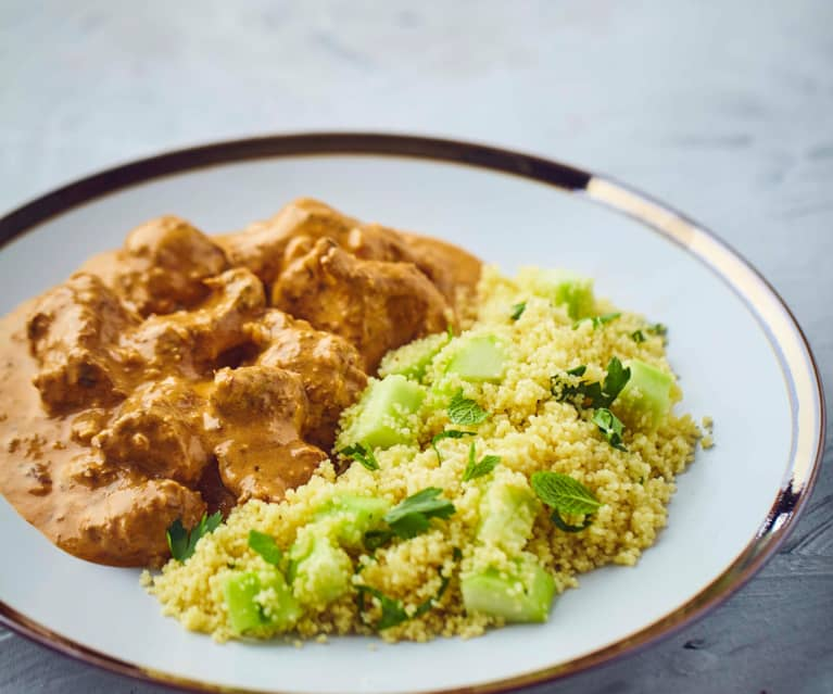 Curry di agnello a Cottura Lenta con cous cous