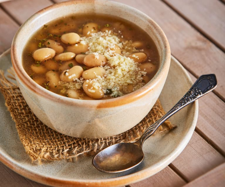 White Bean Soup Cookidoo The Official Thermomix Recipe Platform