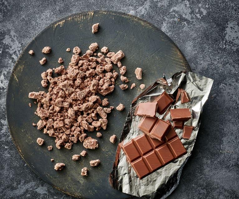 Chocolate con leche rallado grueso (250-300 g)