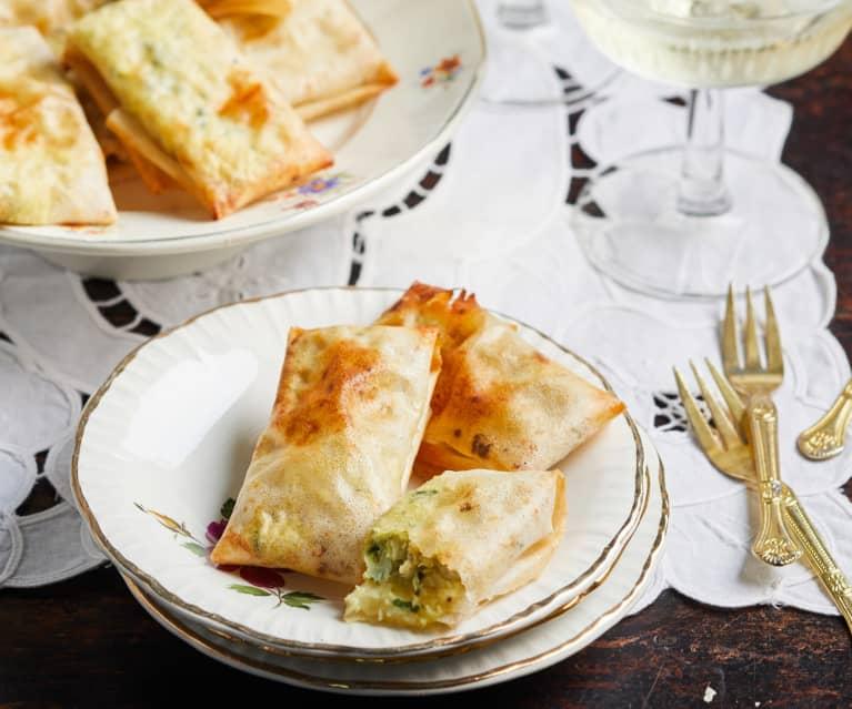 Minipastillas au poulet