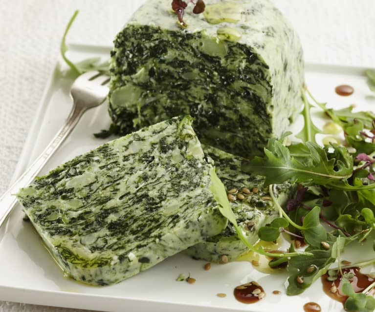 Spinat-Brokkoli-Terrine