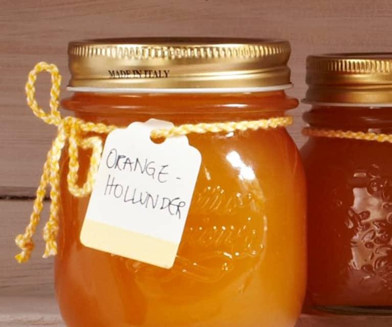 Orangen-Holunderblüten-Aufstrich