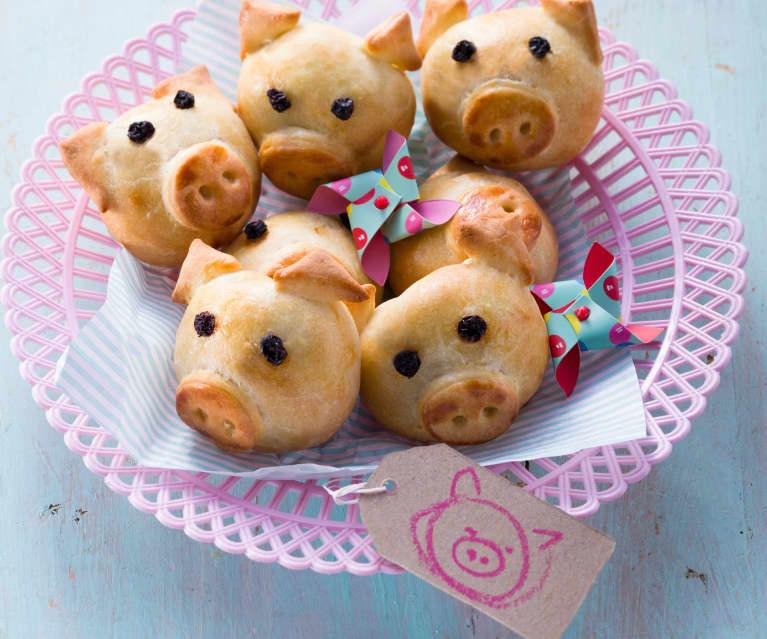 Herzhafte Mini-Schweinchen