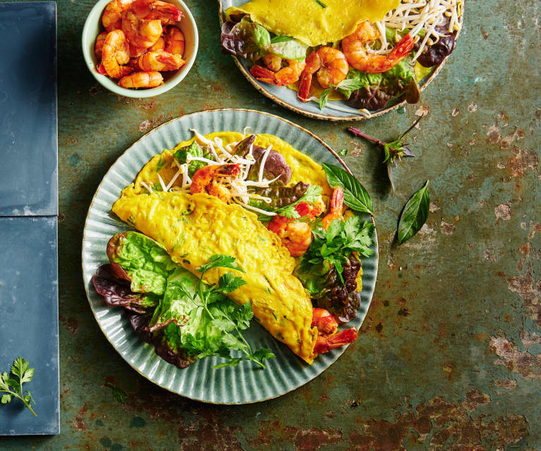 Banh Xeo (vietnamesische Omelette)