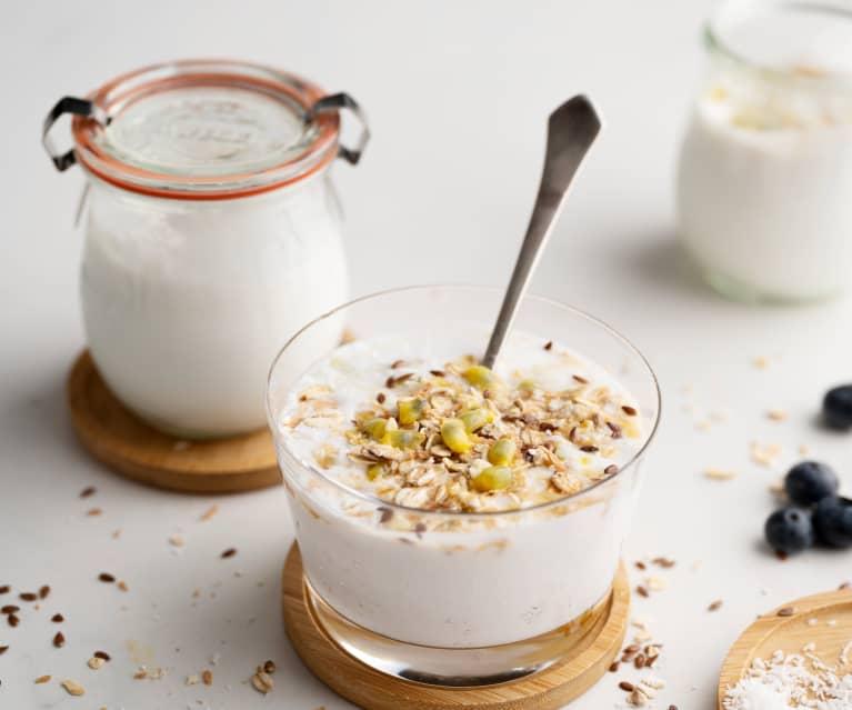 Yogur líquido de coco en Varoma