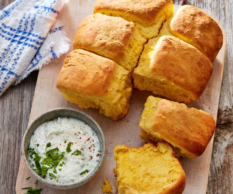 Kürbis-Buttermilch-Biscuits