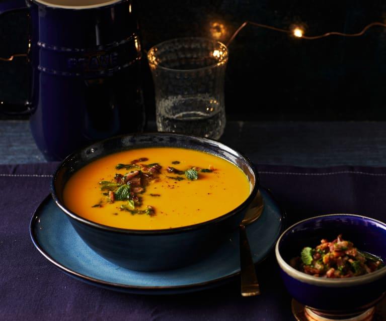Süßkartoffel-Möhren-Suppe
