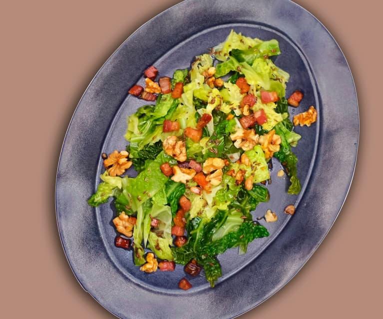 Wirsing-Speck-Salat