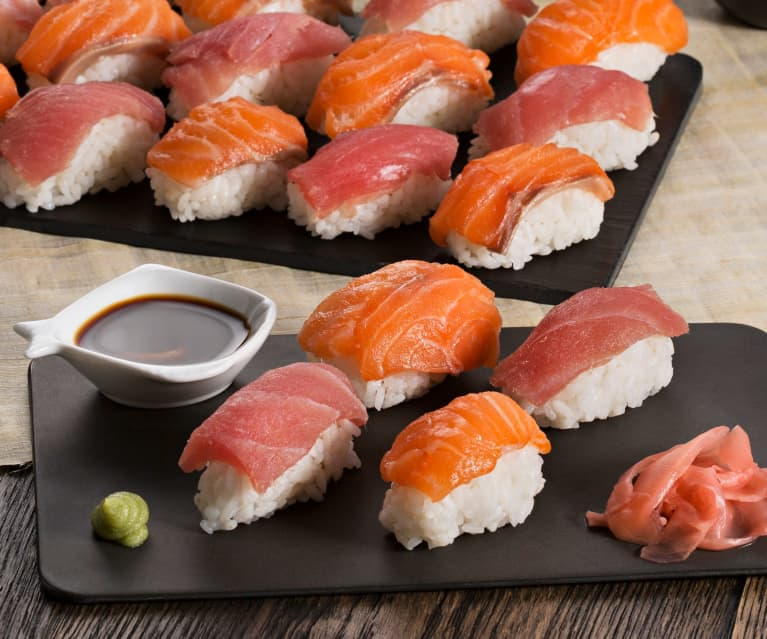 Nigiri sushi - Cookidoo® – the official Thermomix® recipe platform