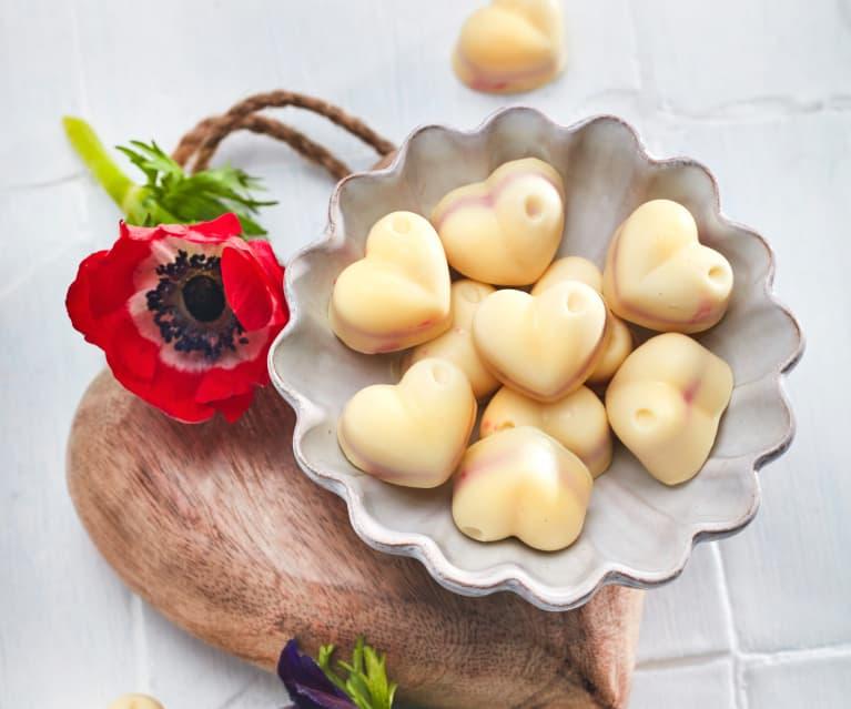 Herzchen-Pralinen