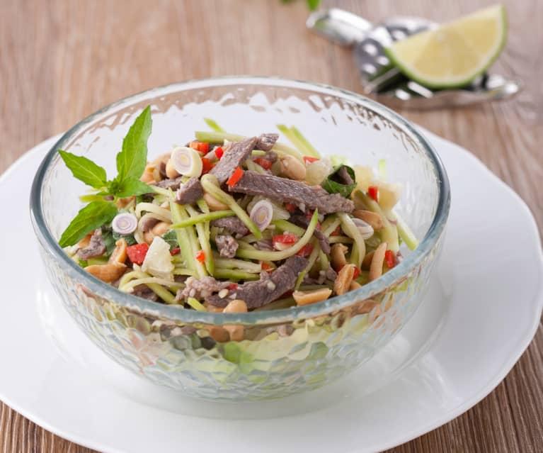 泰式青芒果牛肉沙拉