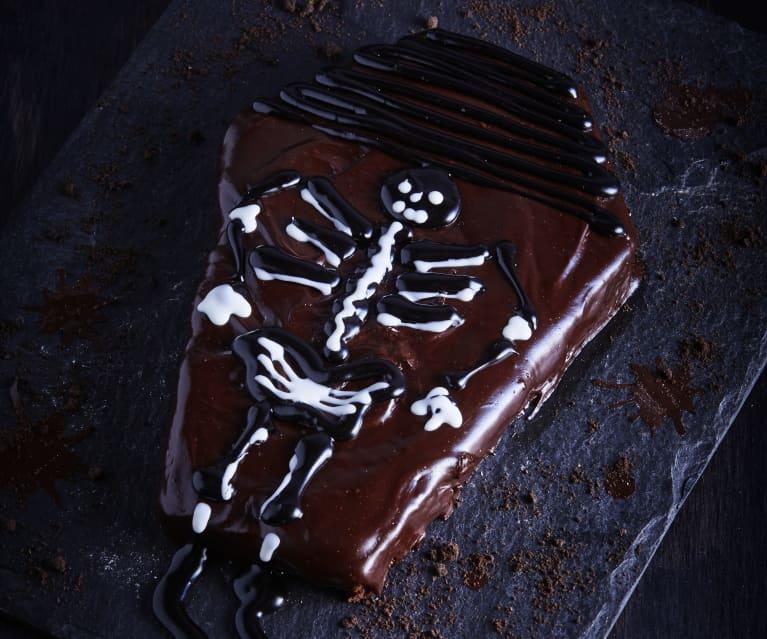 Czekoladowe ciasto-trumna bez mąki