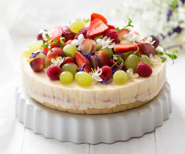 Sommerlicher-Glace-Kuchen