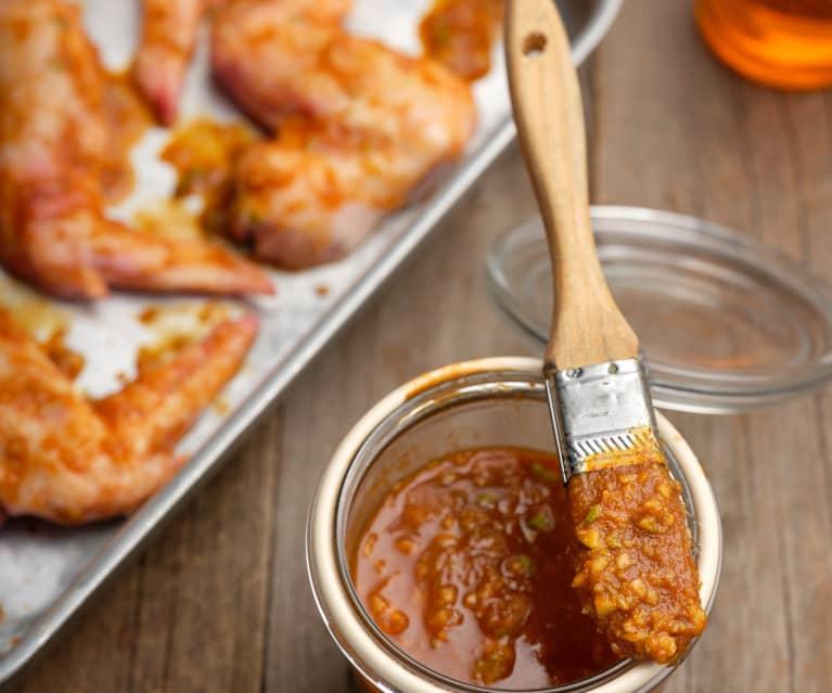 Gochujang (Korean chilli paste) marinade
