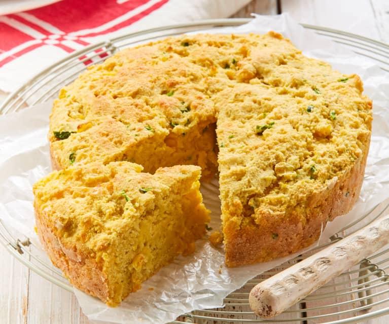 Pan de maíz Texano