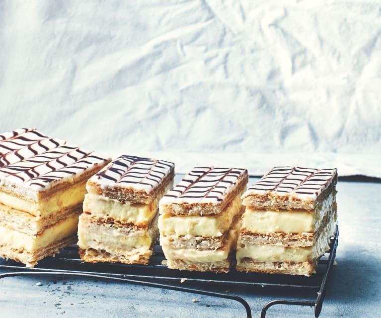 Mille-feuille classique à la vanille - Cookidoo® – the official Thermomix®  recipe platform