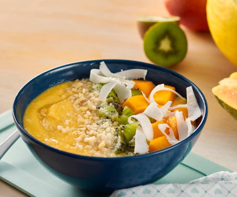 calorias de papaya con avena