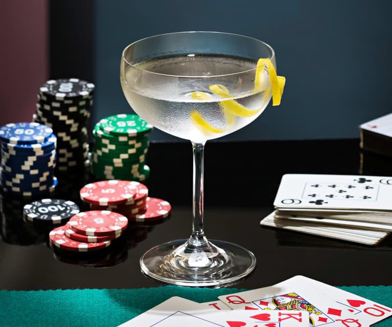 Dry martini. Mezclado, no agitado (Casino Royale)