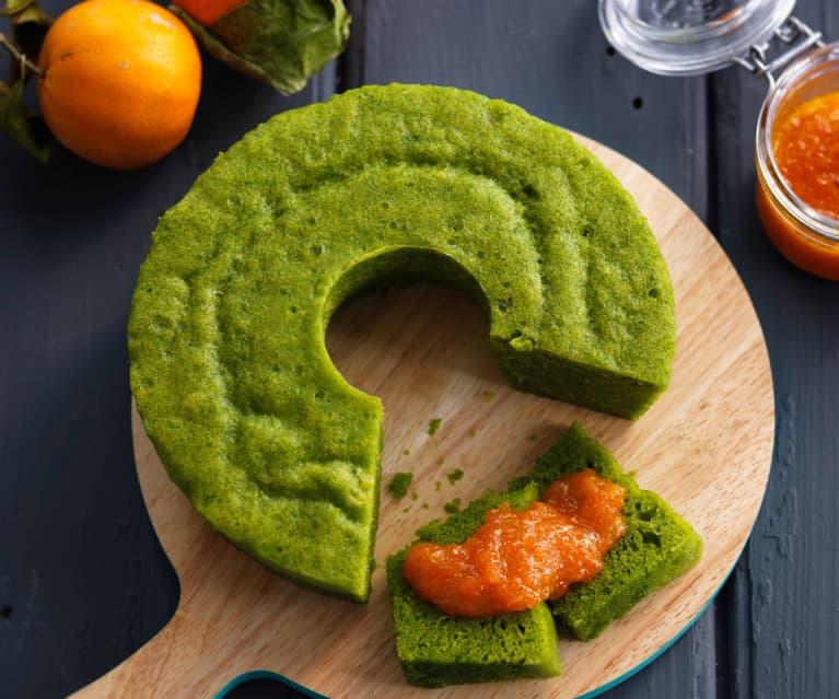 Torta di spinaci e carote al vapore