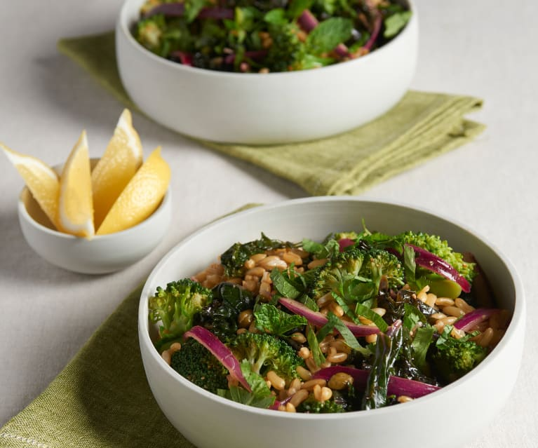 Kamut Salad with Spicy Lemon Vinaigrette