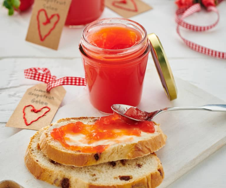 Erdbeer-Grapefruit-Gelee