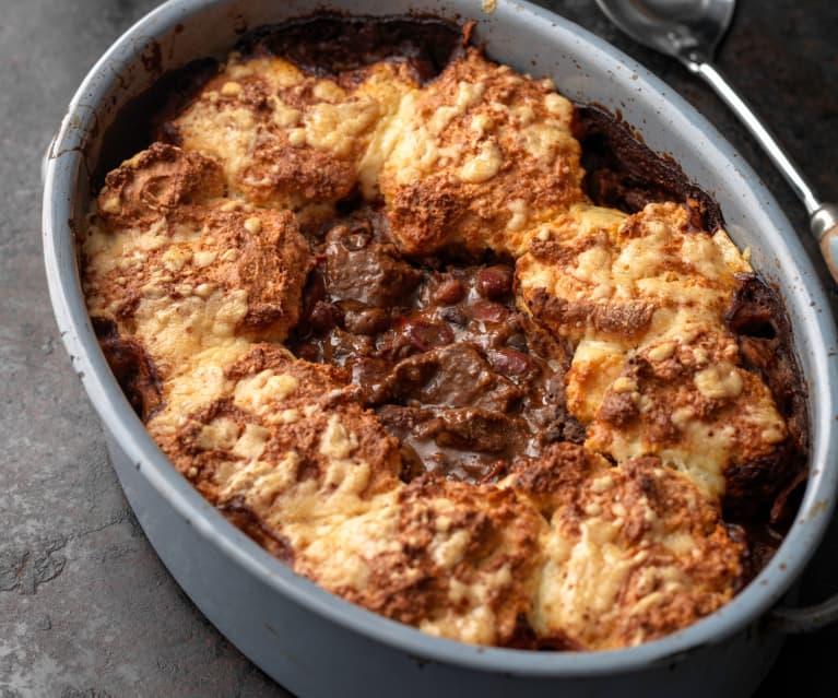 Chipotle Chilli Beef Cobbler