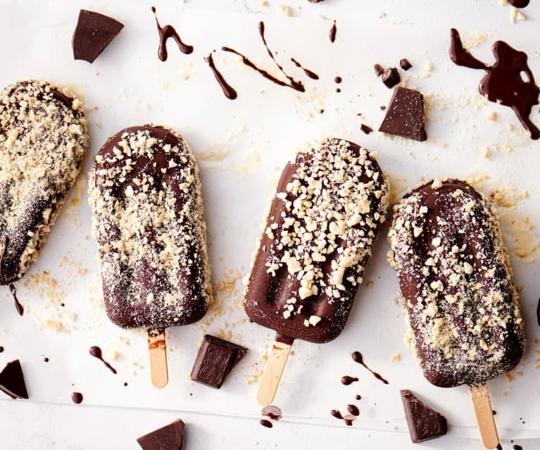 Paletas de helado de tahini y almendras TM6