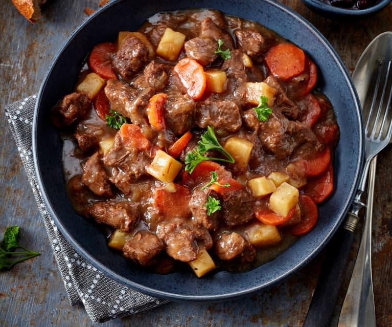 Goulasch de bœuf cuisson lente
