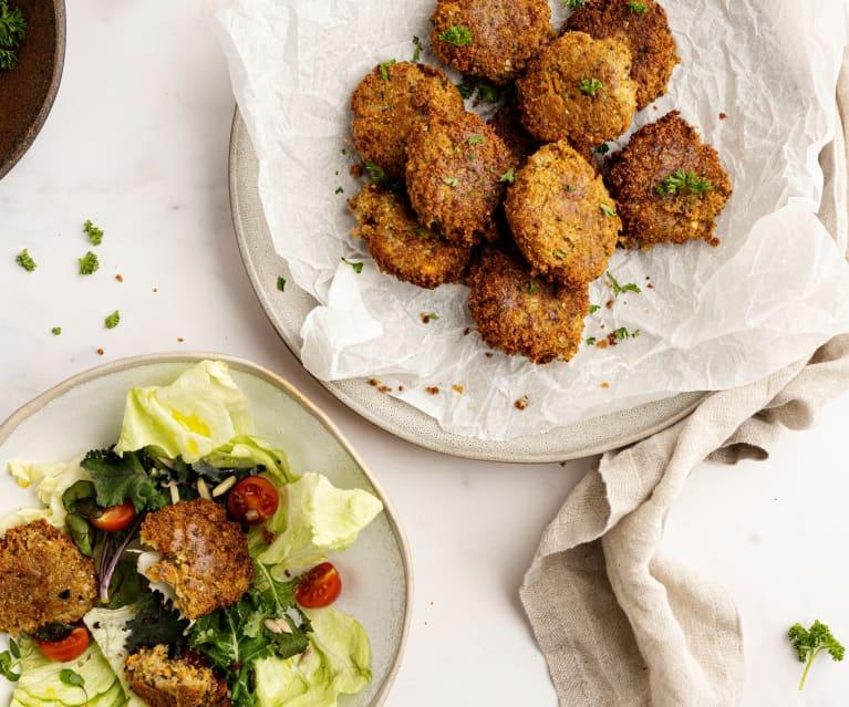 Nuggets vegetarianos con trigo sarraceno