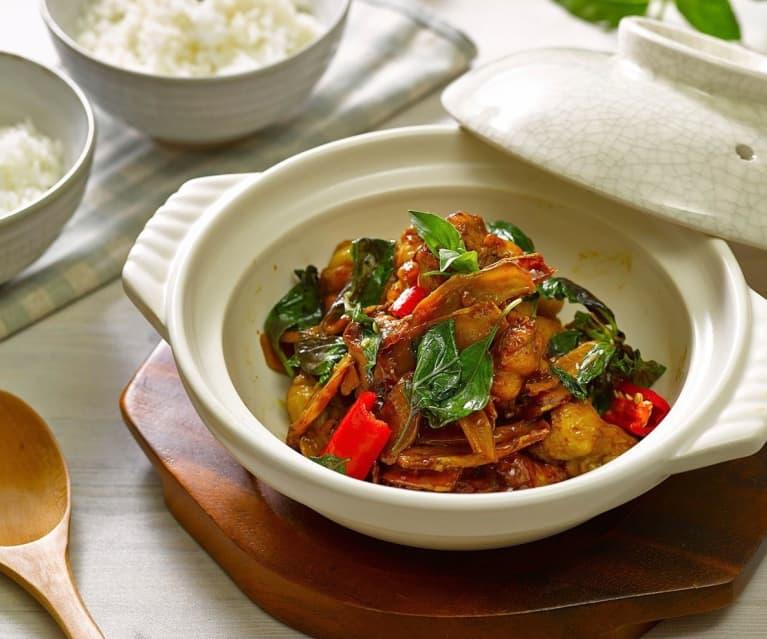 San bei ji (three cup chicken)