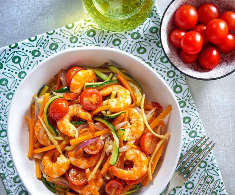 鮮蝦脆口沙拉