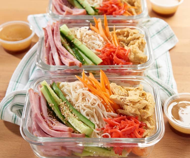 Asian Somen Noodle Salad