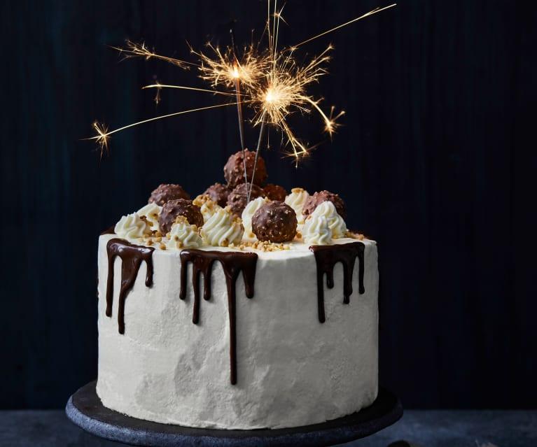 Haselnuss-Schokoladen-Torte