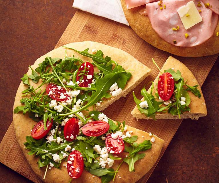Pizza romana  bianca