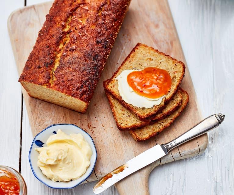 Aprikosen-Banana-Bread