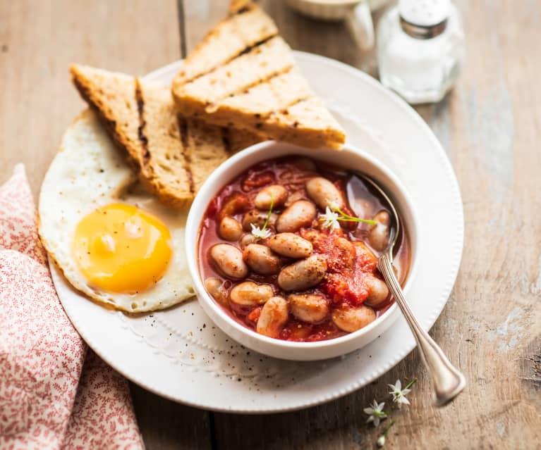 Baked beans (Haricots blancs à la tomate)
