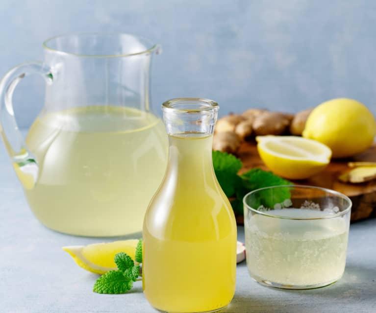 Süßer Ingwer-Zitronen-Sirup