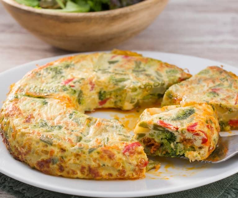 Tortilla de verduras con chorizo - Cookidoo® – la plataforma de ...