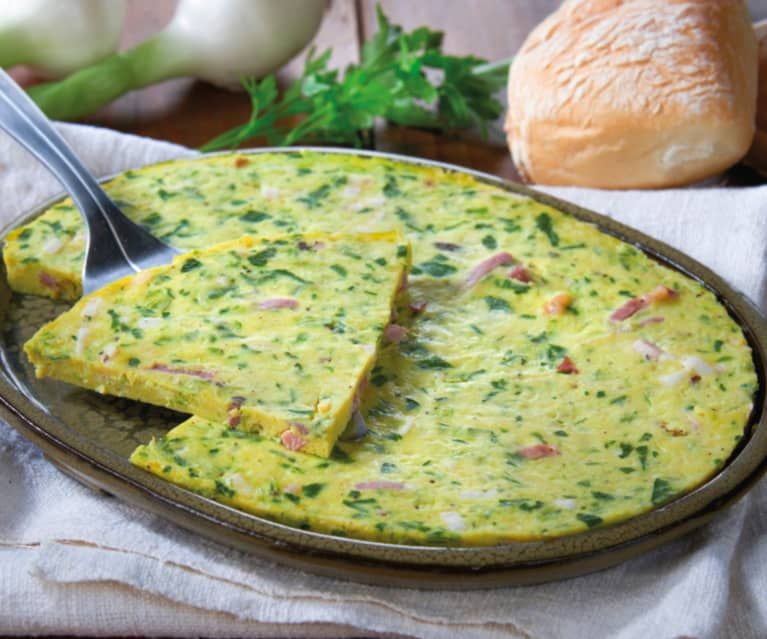 Ricetta Omelette Bimby Tm5.Frittata Allo Speck Cookidoo La Nostra Piattaforma Ufficiale Di Ricette Per Bimby